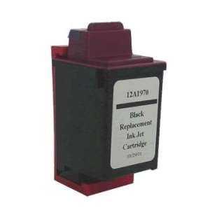 Remanufactured Lexmark 12A1970 (#70 ink) high quality inkjet cartridge - black cartridge