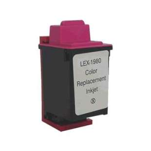 Remanufactured Lexmark 12A1980 (#80 ink) high quality inkjet cartridge - color cartridge
