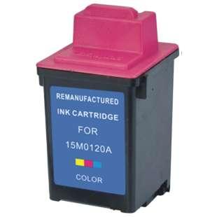 Remanufactured Lexmark 15M0120 (#20 ink) high quality inkjet cartridge - color cartridge