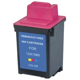 Remanufactured Lexmark 17G0060 (#60 ink) high quality inkjet cartridge - color cartridge