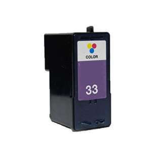 Remanufactured Lexmark 18C0033 (#33 ink) high quality inkjet cartridge - color cartridge
