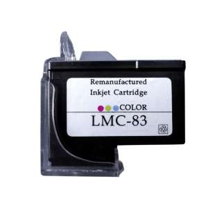 Remanufactured Lexmark 18L0042 (#83 ink) high quality inkjet cartridge - color cartridge