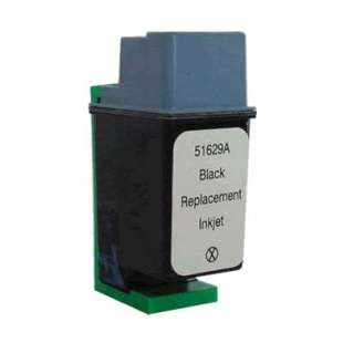 Remanufactured HP 51629A (HP 29 ink) high quality inkjet cartridge - black cartridge