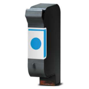 Remanufactured HP 51640C (HP 40 ink) high quality inkjet cartridge - cyan
