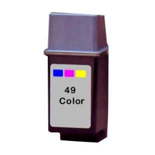 Remanufactured HP 51649A (HP 49 ink) high quality inkjet cartridge - color cartridge