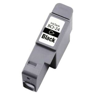 Compatible ink cartridge guaranteed to replace Canon BCI-24Bk - black cartridge
