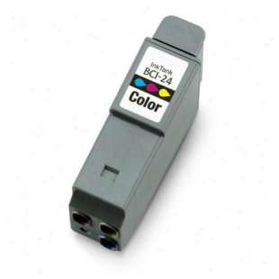 Compatible ink cartridge guaranteed to replace Canon BCI-24C - color cartridge