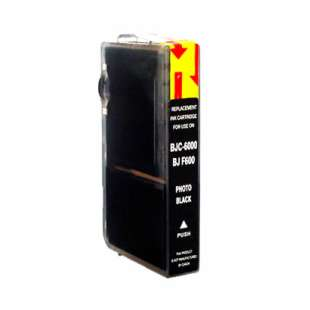 Compatible ink cartridge guaranteed to replace Canon BCI-3ePBk - photo black