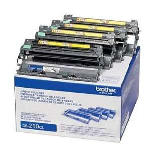 OEM Genuine Brother DR221CL toner drum - 4-pack