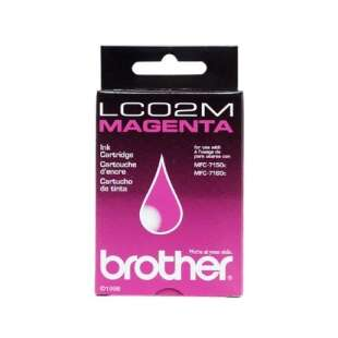 OEM Genuine Brother LC02M high quality inkjet cartridge - magenta