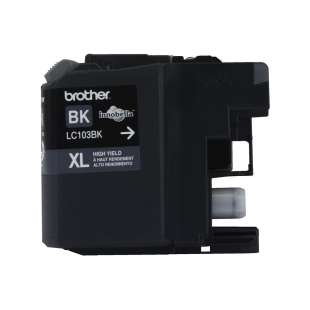 OEM Genuine Brother LC103BK high quality inkjet cartridge - black cartridge