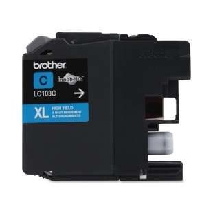 OEM Genuine Brother LC103C high quality inkjet cartridge - cyan