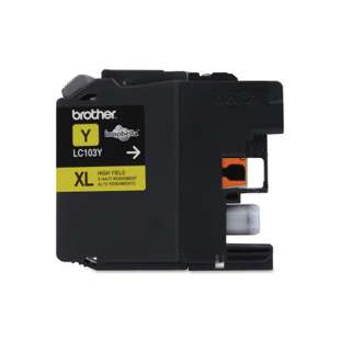 OEM Genuine Brother LC103Y high quality inkjet cartridge - yellow