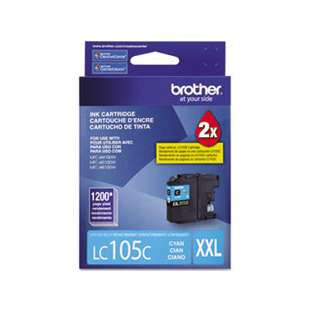 OEM Genuine Brother LC105C high quality inkjet cartridge - cyan