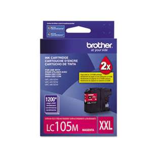 OEM Genuine Brother LC105M high quality inkjet cartridge - magenta
