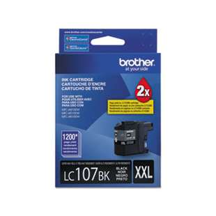 OEM Genuine Brother LC107BK high quality inkjet cartridge - black cartridge