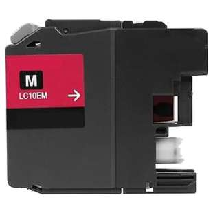Compatible ink cartridge guaranteed to replace Brother LC10EM - super high yield magenta