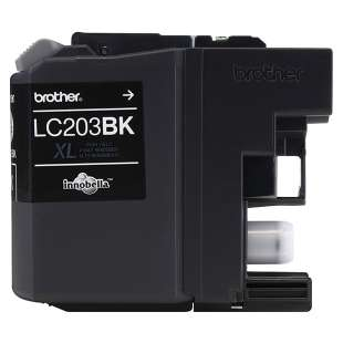 OEM Genuine Brother LC203BK high quality inkjet cartridge - high yield black