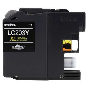 OEM Genuine Brother LC203Y high quality inkjet cartridge - high yield yellow