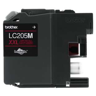 OEM Genuine Brother LC205M high quality inkjet cartridge - super high yield magenta