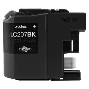 OEM Genuine Brother LC207BK high quality inkjet cartridge - super high yield black