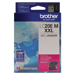 Original Brother LC20EM inkjet cartridge - super high yield magenta