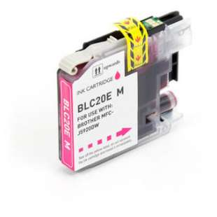 Compatible ink cartridge guaranteed to replace Brother LC20EM - super high yield magenta