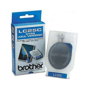 OEM Genuine Brother LC25C high quality inkjet cartridge - cyan