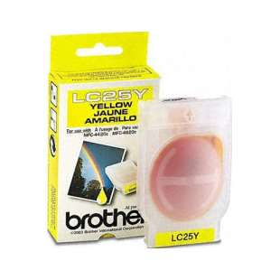 OEM Genuine Brother LC25Y high quality inkjet cartridge - yellow