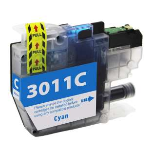Atlantic Inkjet Compatible inkjet cartridge for Brother LC3011C - cyan