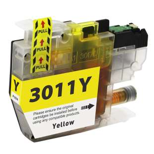Atlantic Inkjet Compatible inkjet cartridge for Brother LC3011Y - yellow
