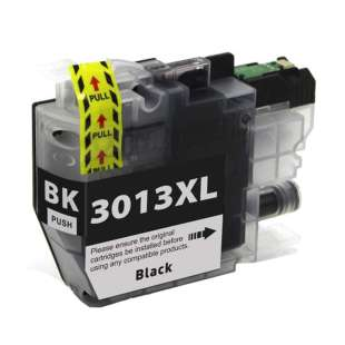 Compatible inkjet cartridge for Brother LC3013BK - high yield black