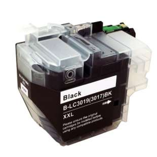 Compatible inkjet cartridge for Brother LC3019BK - super high yield black