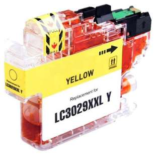 Compatible inkjet cartridge for Brother LC3029Y - super high yield yellow