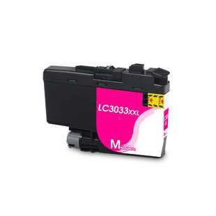 Compatible inkjet cartridge for Brother LC3033M - super high yield magenta