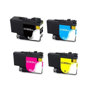 Compatible inkjet cartridges Multipack for Brother LC3035 - 4 pack