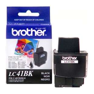 OEM Genuine Brother LC41BK high quality inkjet cartridge - black cartridge
