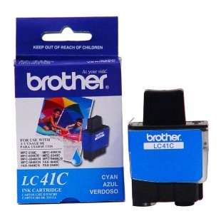 OEM Genuine Brother LC41C high quality inkjet cartridge - cyan