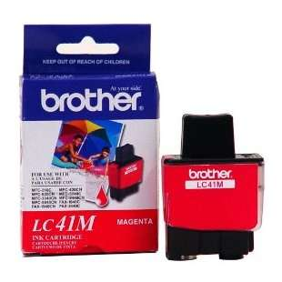 OEM Genuine Brother LC41M high quality inkjet cartridge - magenta