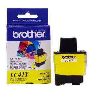 OEM Genuine Brother LC41Y high quality inkjet cartridge - yellow