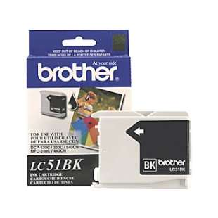 OEM Genuine Brother LC51BK high quality inkjet cartridge - black cartridge