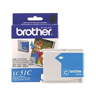 OEM Genuine Brother LC51C high quality inkjet cartridge - cyan