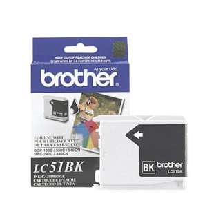 OEM Genuine Brother LC51HYBK high quality inkjet cartridge - black cartridge
