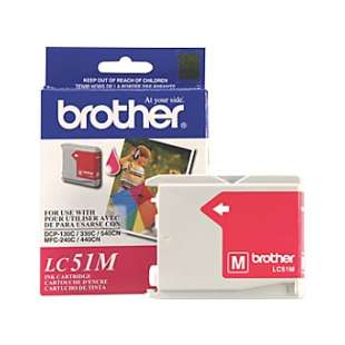 OEM Genuine Brother LC51M high quality inkjet cartridge - magenta