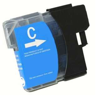 Compatible ink cartridge guaranteed to replace Brother LC61C - cyan