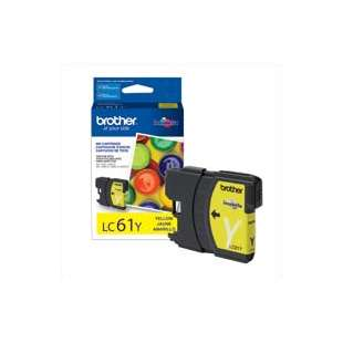 OEM Genuine Brother LC61Y high quality inkjet cartridge - yellow