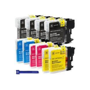 Compatible high quality inkjet cartridges Multipack for Brother LC65 - 10 pack
