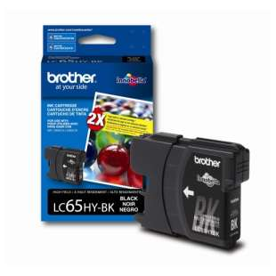 OEM Genuine Brother LC65BK high quality inkjet cartridge - black cartridge