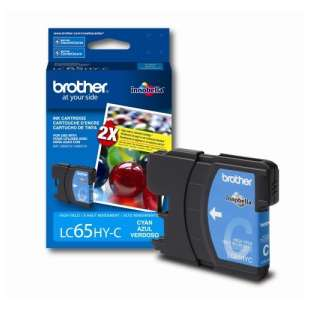 OEM Genuine Brother LC65C high quality inkjet cartridge - cyan