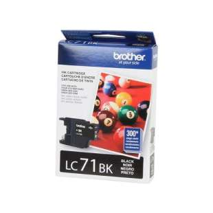OEM Genuine Brother LC71BK high quality inkjet cartridge - black cartridge